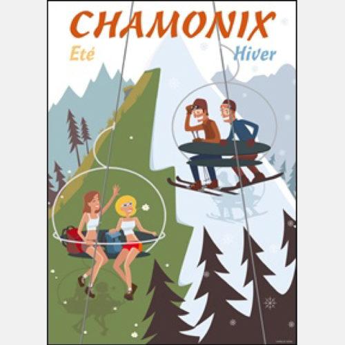 Stampa Chamonix Eté/Hiver