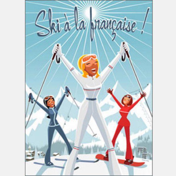 Stampa Ski à la Française