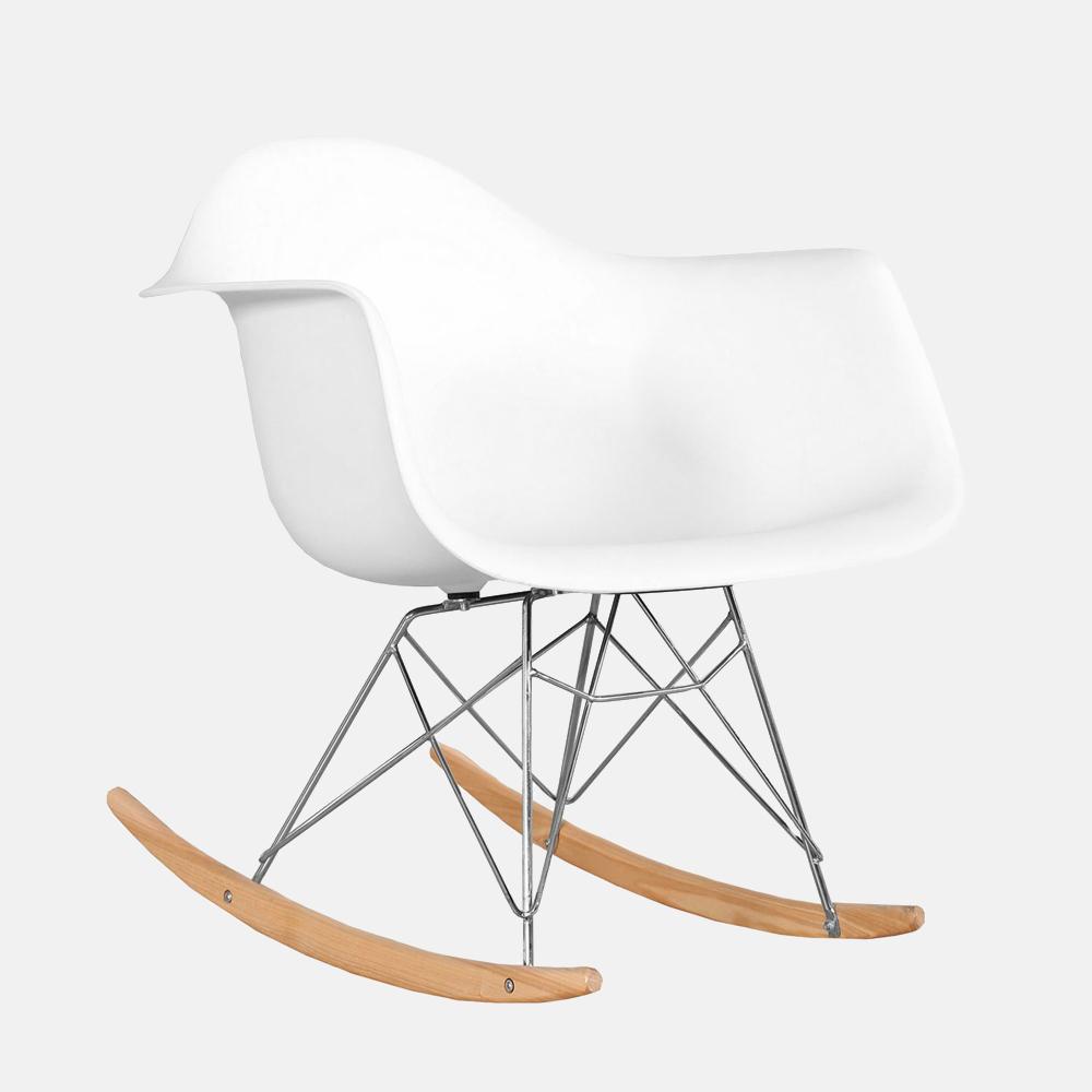 sedia a dondolo mod eames design alpino