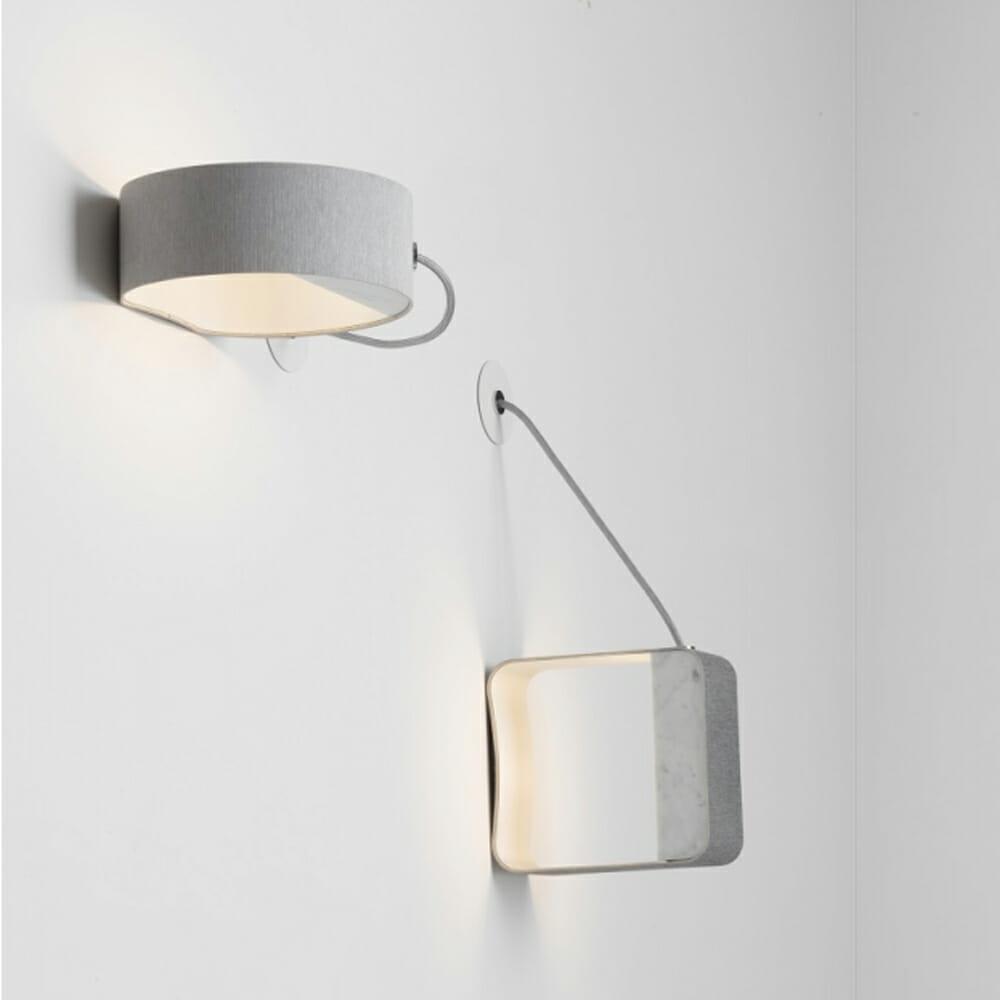 Lampada a parete Design Heure mod. Eau de Lumière - Design Alpino