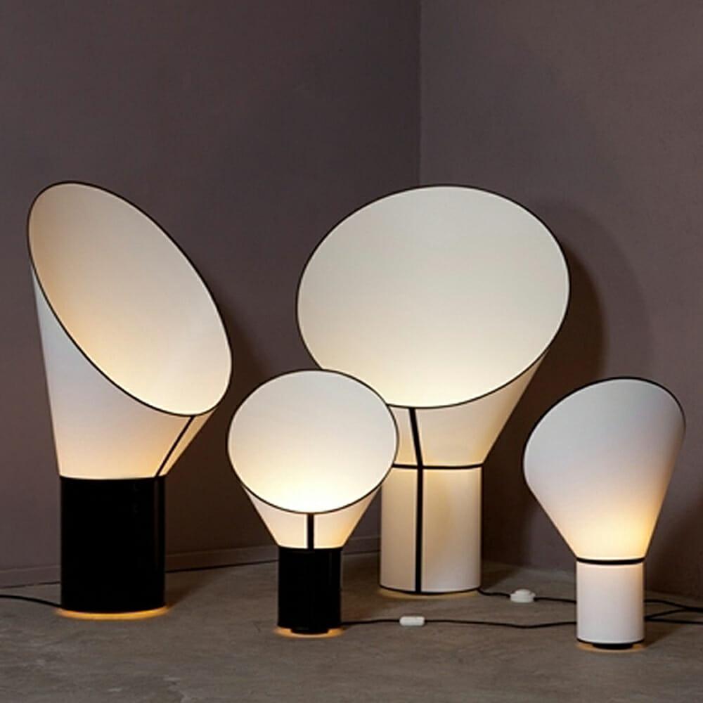 Lampada da tavolo design heure mod cargo lamp design alpino - Lampada da terra design ...