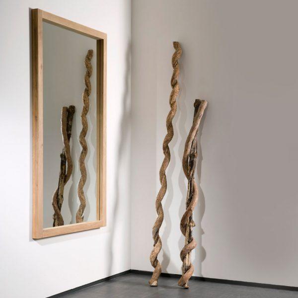 Specchio Ethnicraft mod. Light Frame
