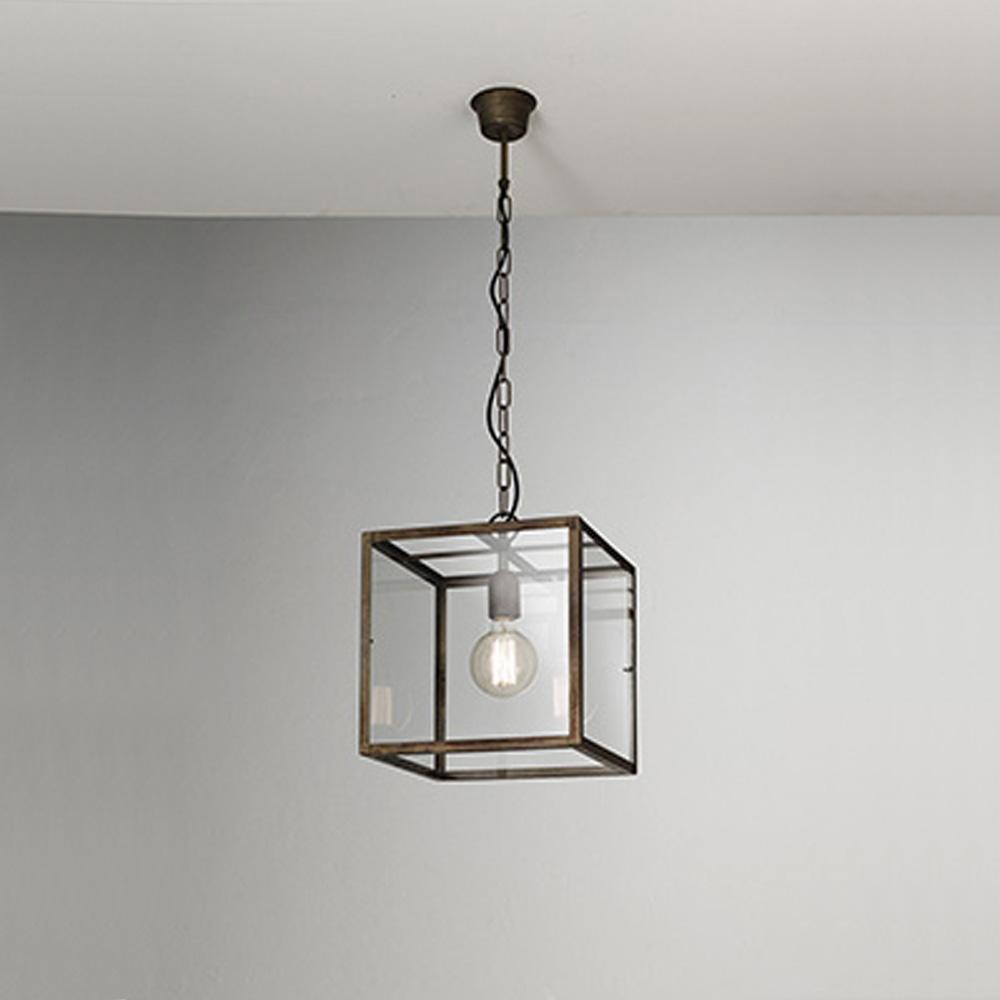 Lampada a sospensione Il Fanale mod. London - Design Alpino