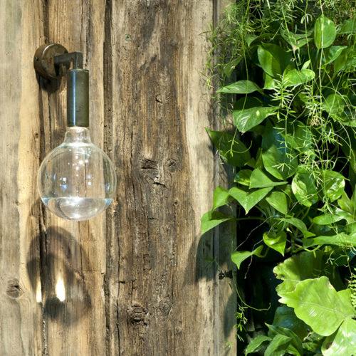 Lampada da esterno Renzo Serafini mod. Riluce