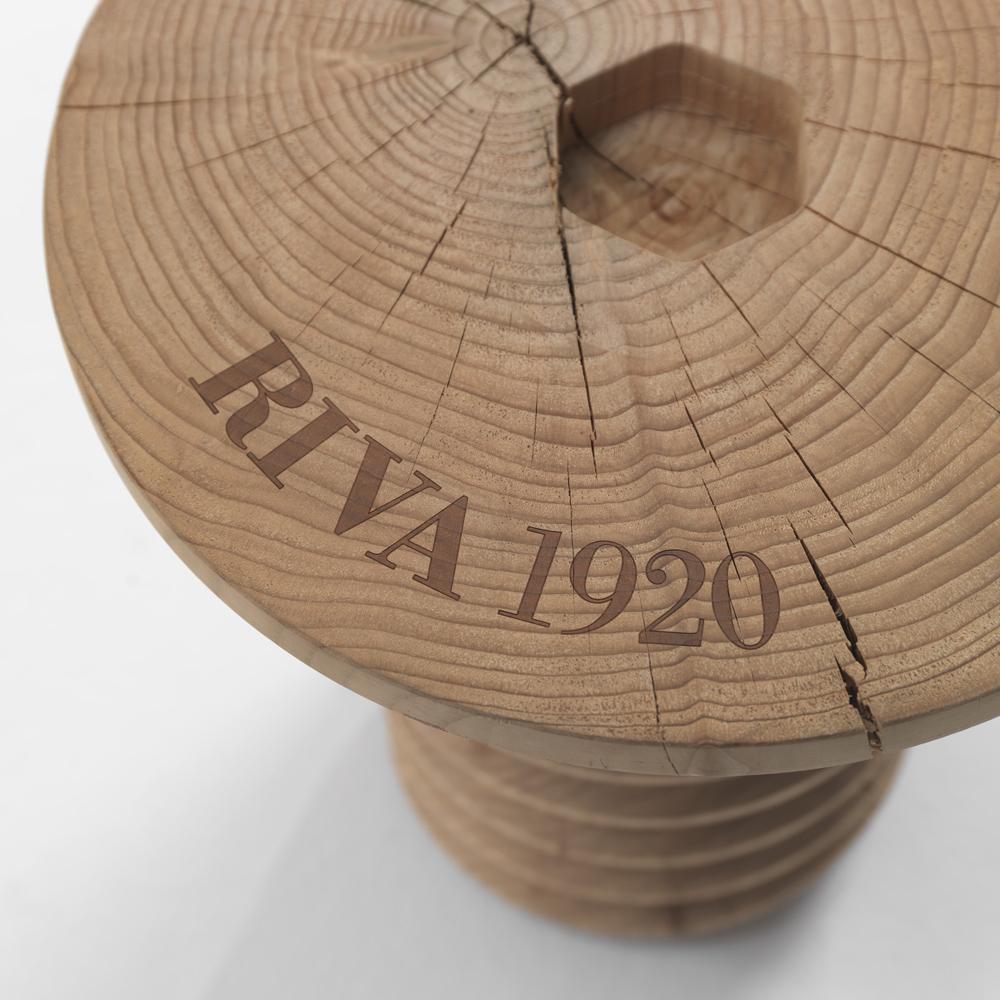 Sgabelli Riva 1920.Sgabello Riva1920 Collezione Cedro Mod Vite Brugola