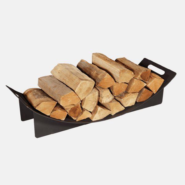 Porta legna curvo