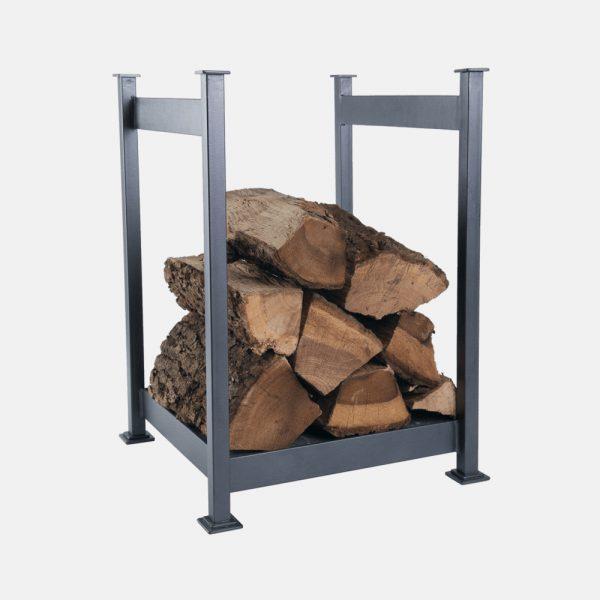 Porta legna in ferro