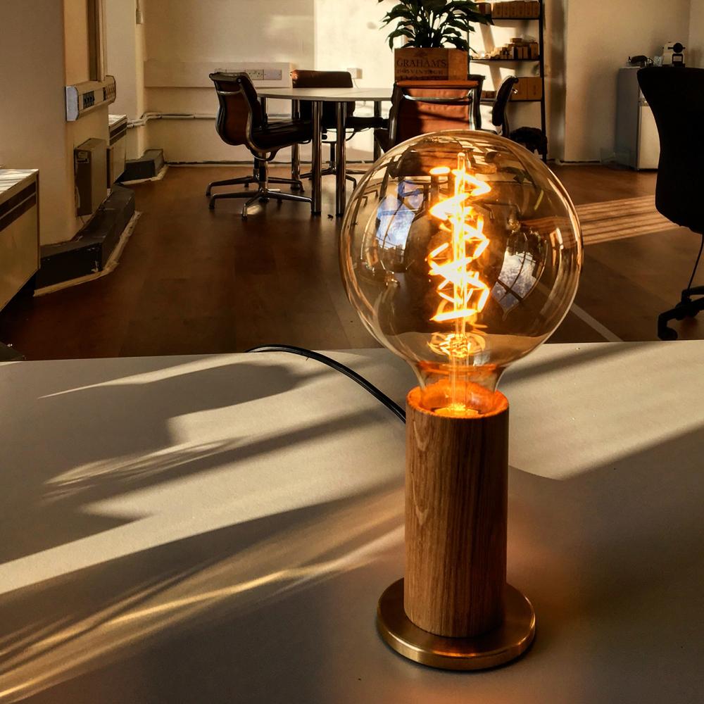 Design Lampade Da Tavolo lampada da tavolo in legno touch lamp