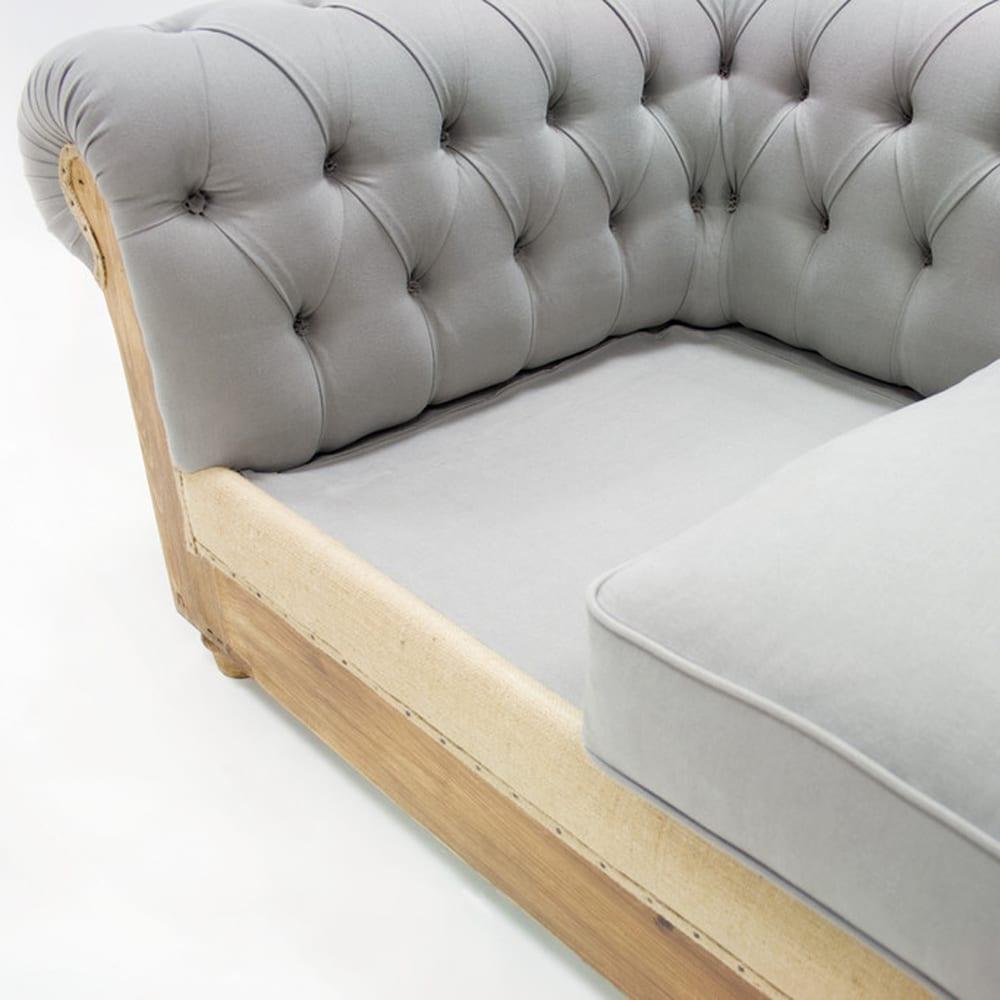 Divano letto mod chesterfield design alpino - Divano letto chesterfield ...