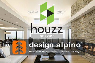 Design Alpino a Sauze d'Oulx vince il Best of Houzz 2017