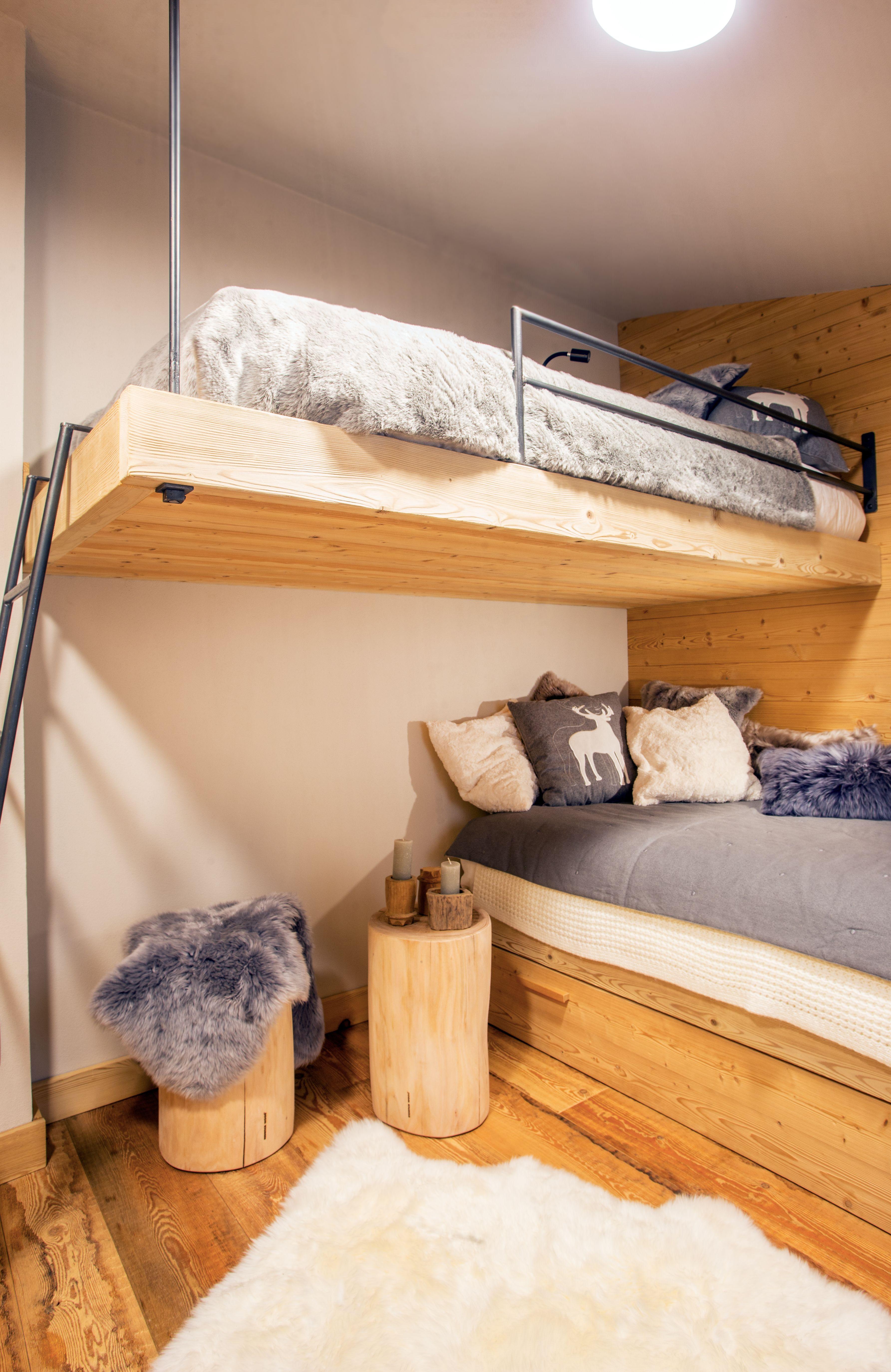 Arredamento camere di montagna per ragazzi design alpino for Camere di montagna