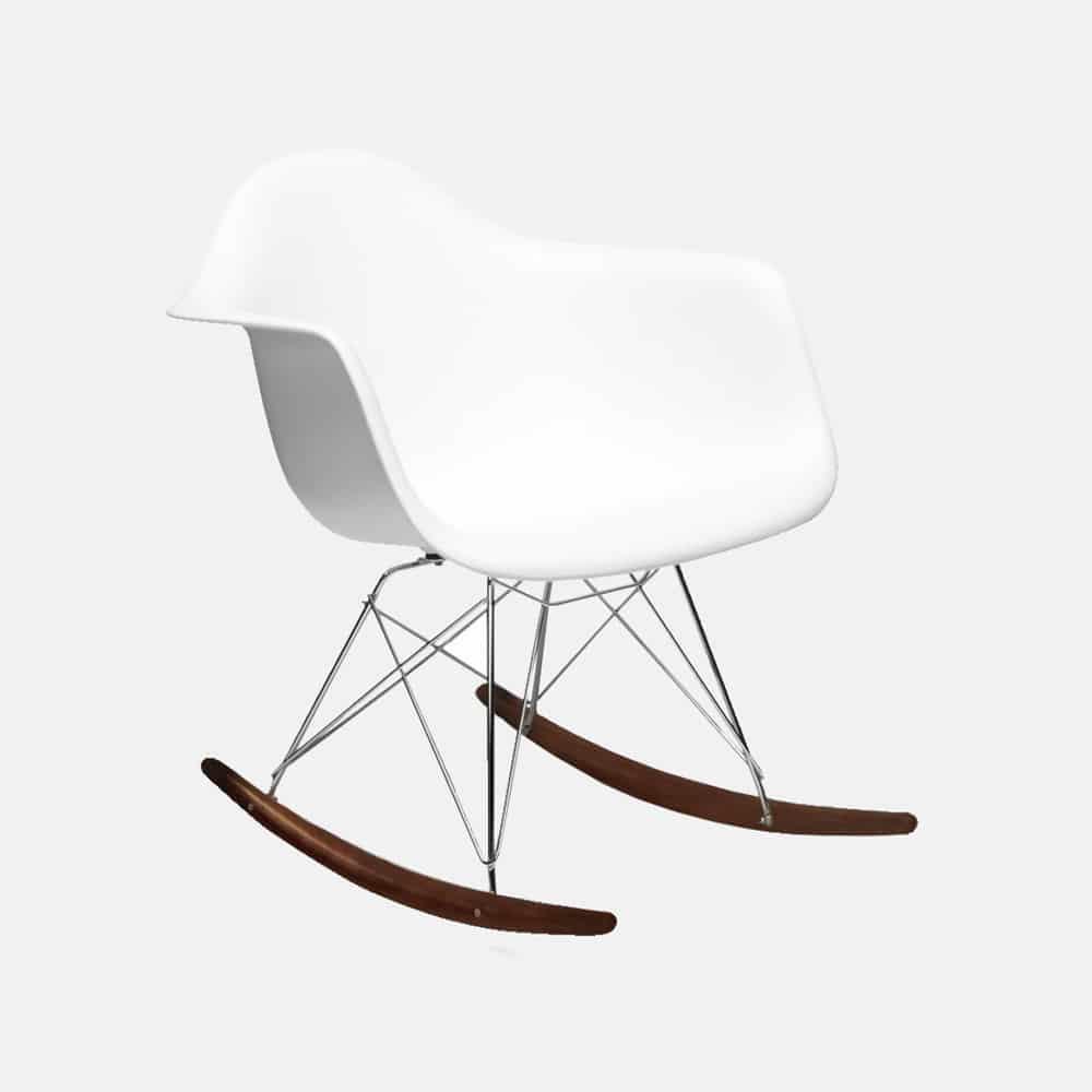 Sedia A Dondolo Bianca.Sedia A Dondolo Mod Eames Linea Kids Design Alpino