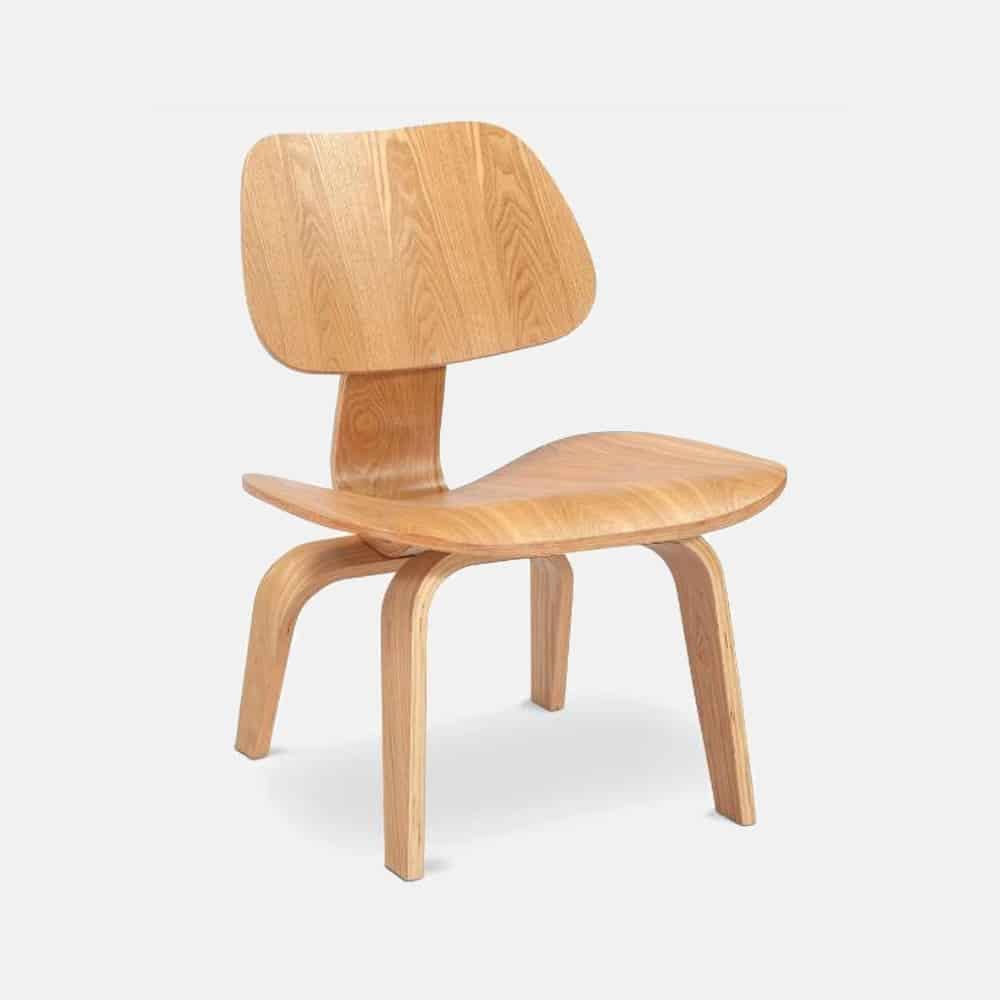 Sedia In Legno Mod Eames Design Alpino