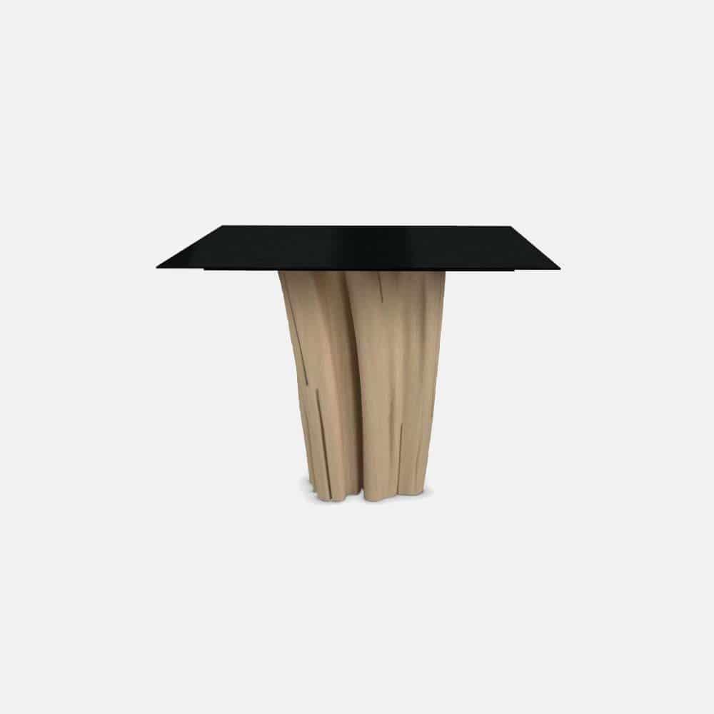Tavolo quadrato in legno mod brick design alpino - Tavolo quadrato legno ...